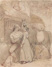 the proposition by thomas rowlandson