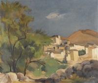corsican landscape by abram adolphe milich
