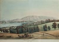 vue des environs de genève by johann jakob biedermann and gabriel ludwig lory
