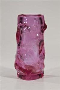 vase mit unterwasserdekor by heinrich hussmann