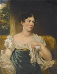 portrait of the irish actress harriett constance smithson (1800-1854) by george clint