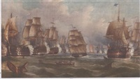 the battle of trafalgar by richard b. spencer