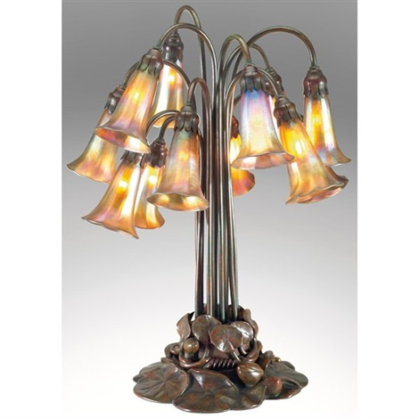 table lamp by tiffany studios