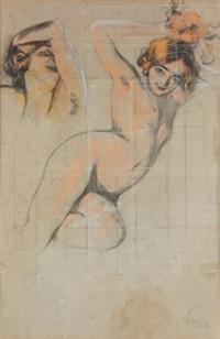 estudio de desnudo by pierre ribera