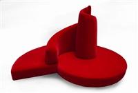 divano da centro modello tatlin by roberto semprini