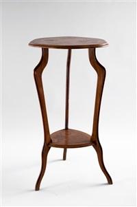 tavolino art nouveau a tripode by paul guth