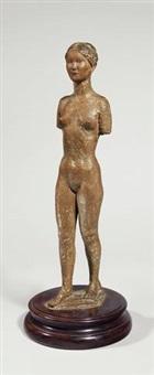 schreitender torso (barbara) by ernesto de fiori