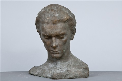 a head of a man by wäinö aaltonen