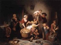 l'heureuse famille by pierre paul alouis hunin