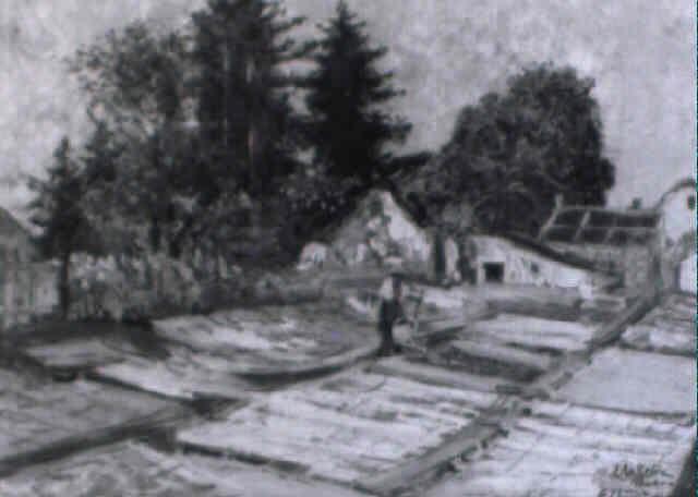 gärtnerei mit beeten und glashaus by eugen ankelen