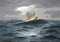 el j.s. de elcano viento en popa by esteban arriaga