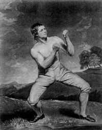 richard humphreys the celebrated boxer who was never conquered by john young