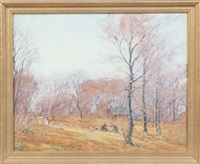 autumn scene by george a. renouard