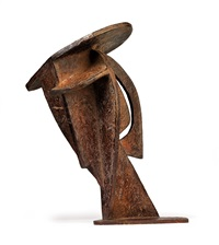 head (construction with crossing planes) by alexander archipenko