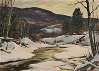 winter, vermont by aldro thompson hibbard