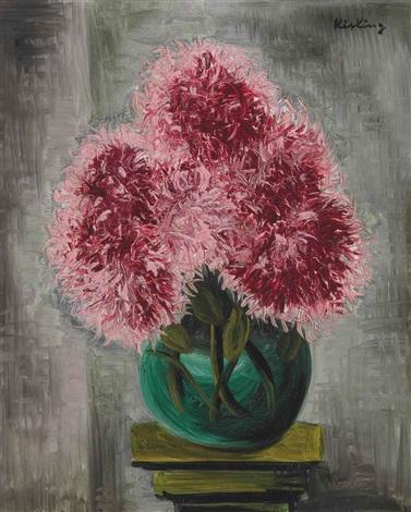 chrysanthèmes by moïse kisling