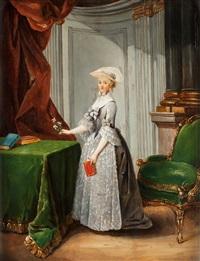 septimanie de richelieu, comtesse d'egmonte by michel barthelemy olivier