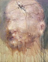 portrait (apollinaire) by liu wei