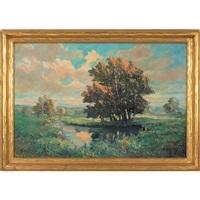summer landscape by william arnold eyden