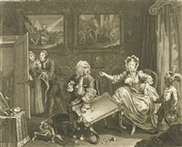 the original and genuine works (set of 108) by william hogarth