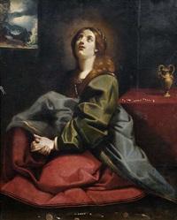 die heilige maria magdalena im gebet by antiveduto grammatica