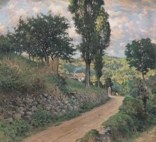 paesaggio biellese by romolo ubertalli