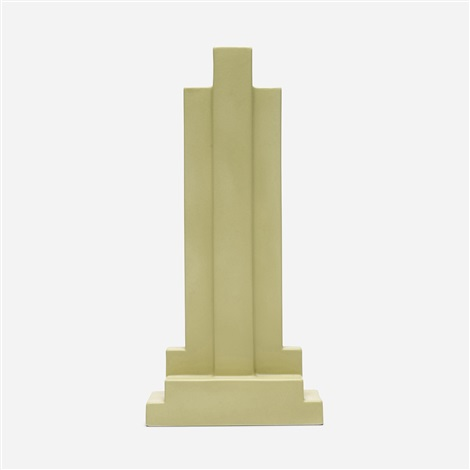 vase from the yantra series model y15 by ettore sottsass