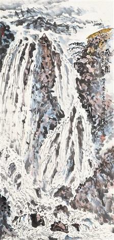 飞流图 by zhang wenjun