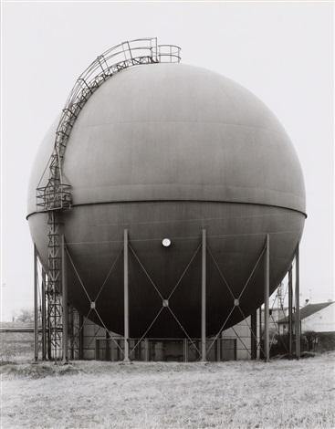 gasbehälter bei wuppertal by bernd and hilla becher