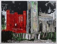 buckden palace, cambridgeshire by john piper