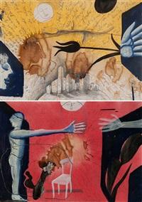 stadtansicht (+ versuchter; 2 works) by thomas lange