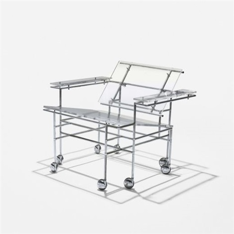 rolling lounge chair by paul rudolph
