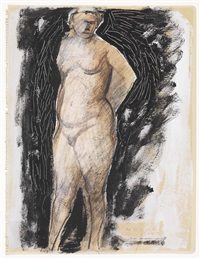 figura femminile (pomona) by marino marini