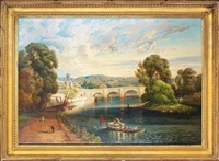 richmond bridge, london by edwin holder