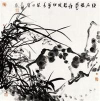 兰石图 镜心 纸本 by jiang fengbai