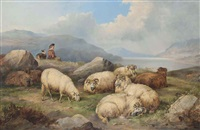 the young shepherd by john charles morris