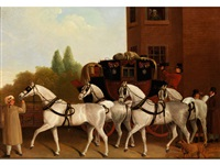 edinburgh and london-royal mail by jacques-laurent agasse