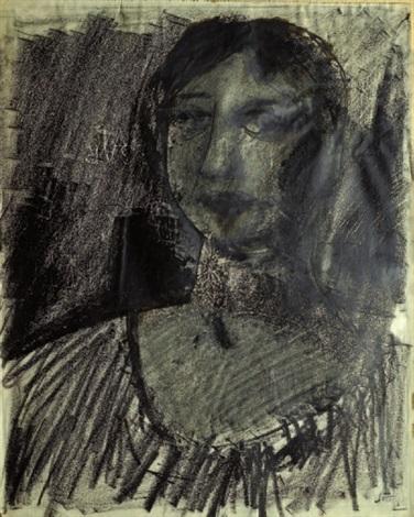 busto femminile camatita by mario sironi