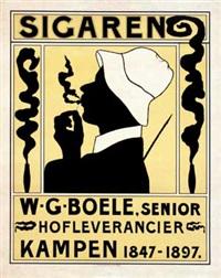 sigaren w.g. boele kampen by felix bos