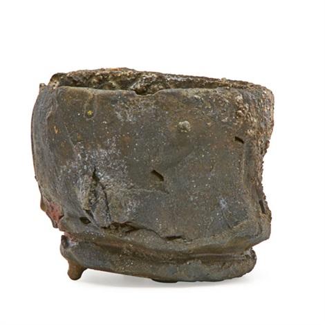 tea bowl by peter voulkos