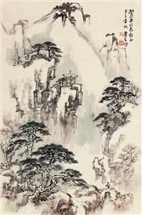 山水 by liu lusheng