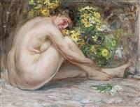 nudo tra i fiori by antonio piatti