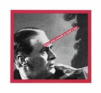 untitled (from your mouth to god's ear) by barbara kruger