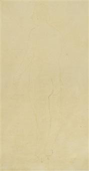 nudo femminile by marino marini