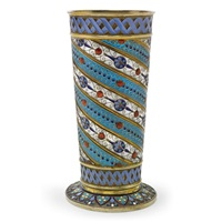 a vase by antip ivanovich kuzmichev