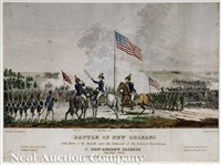 battle of new orleans, and defeat of the british under the command of sir edward packenham by general andrew jackson by james w. steel