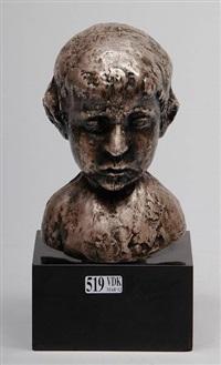 buste d'enfant by charles auffret