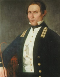 portrait of a u.s. naval oficier of the