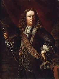 portrait of admiral stell de werff by christoffel pierson