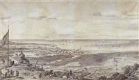 vue générale de cherbourg by pierre ozanne